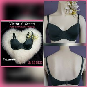 Victoria's Secret Bra 32DDD Push-up Green
